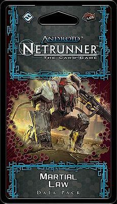Martial Law data pack (Android Netrunner LCG)