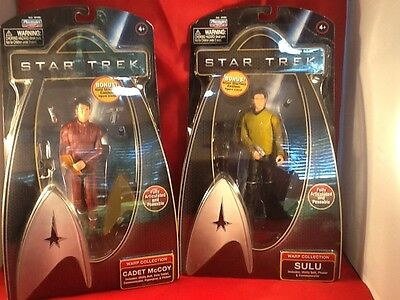 Star Trek Warp Collection Fully  Posable Playmates Action Figure Lot NEW IOB