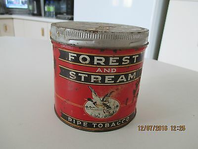 Forest and Sream Pipe Tobacco tin can