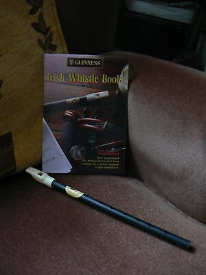 Guinness irish whistle and instruction book
