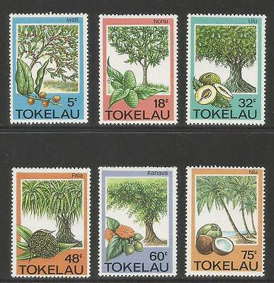 Tokelau 1985 Local Fruit Trees--Attractive Food Topical (114-19) MNH