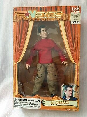 Nsync Collectible Marionette JC Chasez