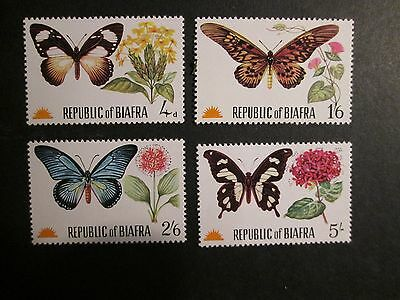 Biafra 1967-70 unmounted Mint