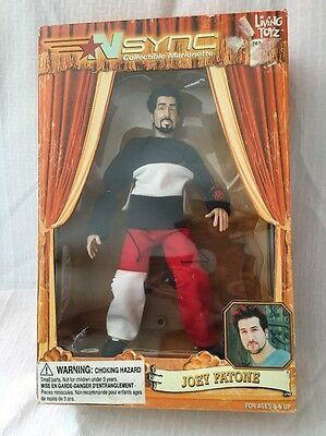 Nsync Collectible Marionette Joey Fatone