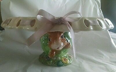 Beautiful Bunny Cake Ribbon Stand Easter