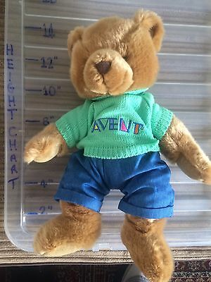 "14"" Avent Beautiful  Super Soft Collectable Teddy Bear ��"