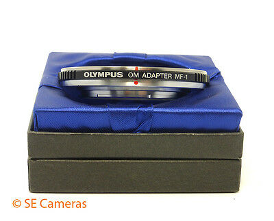 Genuine Olympus Om Adapter Mf-1 Om To Four Thirds Mount Adapter