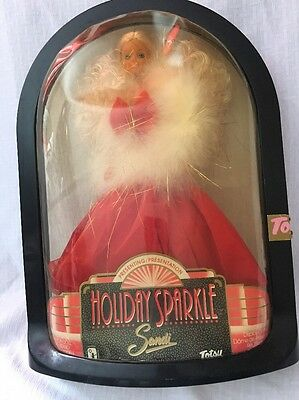 Presenting Holiday Sparkle Sandi Totsy Doll