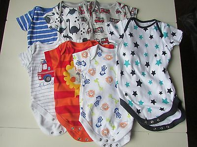 NEXT Baby Boys Vest/Romper Suit with Short Sleeves Ages 3 Months to 2yrs  New