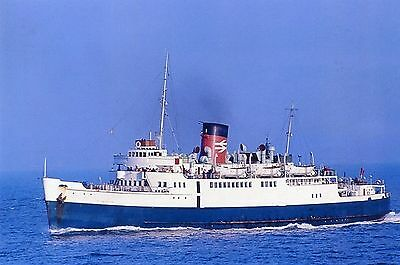 6x4 SIZE PHOTOGRAPH OF THE SEALINK FERRY  ST PATRICK