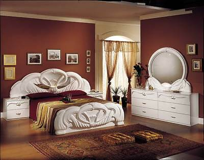 HIGH QUALITY 7 PSC ITALIAN FULL BEDROOM SET WITH   **Free Delivery**