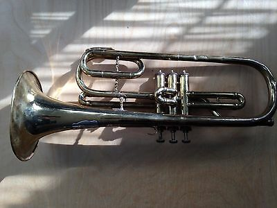 F.T. Merz Trumpet G Key. made in Germany
