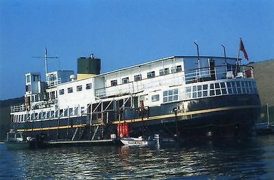 6x4 SIZE PHOTOGRAPH OF THE Ex MERSEY FERRY  EGREMONT.