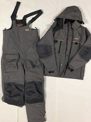 Striker Ice Men's Guardian Jacket & Bib Set w/Sureflote, Gray