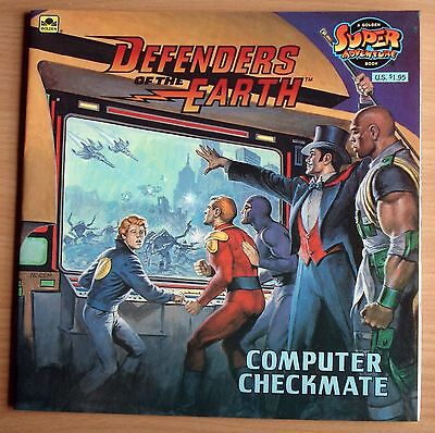 Defenders Of The Earth : Computer Checkmate : Golden Super Adventure Book