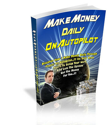 HOW TO MAKE MONEY ONLINE PDF eBook With resale rights