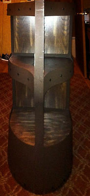 Captain Morgan Metal Liquor Stand with 3 Wood Shelves - PICK-UP ONLY