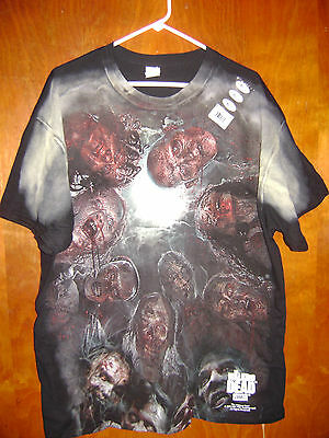 AUTHURIZED The Walking Dead Surrounded Huddle of Walkers Men's T-shirt New 2X