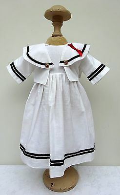 Dolls Sailor Dress Fashion Outfit Pedigree Doll Vintage Doll Clothes