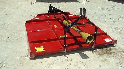 (NEW) 3pt 6' foot brush hog mower with stump jumper