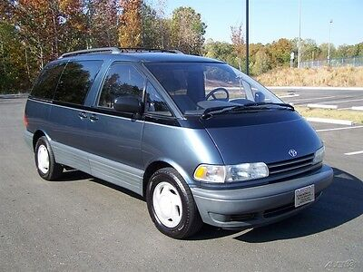 1994 Toyota Previa 1-OWNER LE NEAT FIND SERVICED COMPARE 2 SIENNA VAN A-FANTASTIC-HISTORY-VERY-CLEAN-ORG-DUAL-AC-QUAD-2.4L-REAR-WHEEL-DRIVE-WAGON-SUV