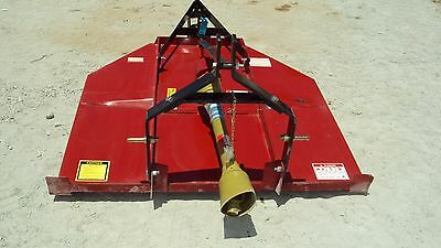 3pt **NEW** 5' foot brush hog with stump jumper