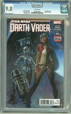 Star Wars: Darth Vader #3 CGC 9.8 First Aphra, 0-0-0 & BT-1 New Series Coming