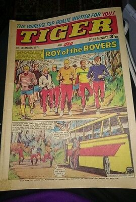 TIGER & JAG Comic - Date 04/12/1971 - Inc Roy of thr Rovers (Melchester)