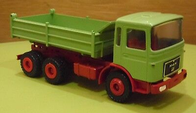 Conrad Man Tipper Lorry 3140 With Box Diecast Scale 1:50