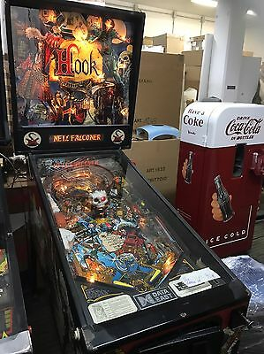 Flipper Pinball Hook No Jukebox Coca Cola Vintage