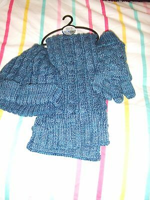 Next Childrens Hat Scarf And Gloves Set New With Tags Age 7-10