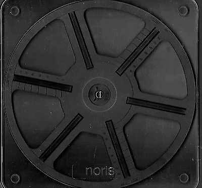 NORIS 240 metre/800 foot Super 8mm film spool used but as new in library case