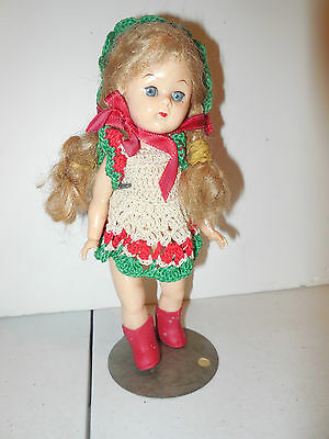 Great Vintage Ginny Doll - Home-made Clothes