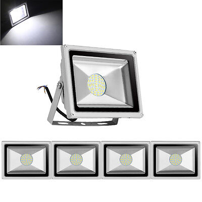 5X 30W LED Floodlight Security Garden Lamp IP65 Cool White Outdoor LED Lamp