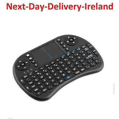 i8 2.4GHz USB Wireless Black Keyboard Keypad Touchpad for Android & Windows TV