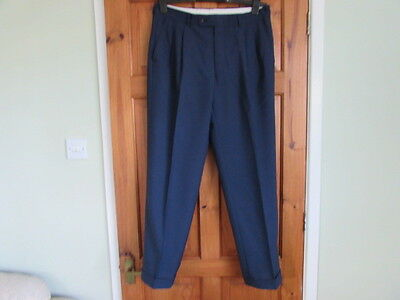 Odermark  northern soul / 50s twin pleated turn up trousers  W 34 X L 30