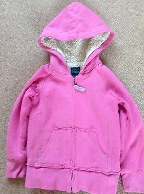 mini Boden girls zip up hoodie size 5-6 years