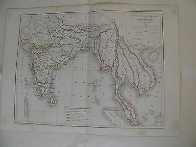 India and Southeast Asia with date 1846