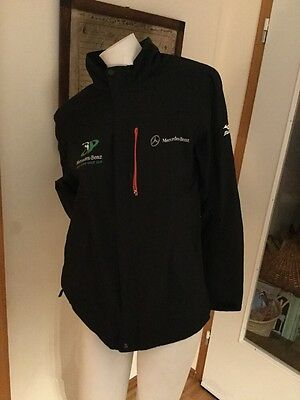 Mizuno Imperilite Waterproof Golfjacke M Mercedes Benz AW Golf Cup