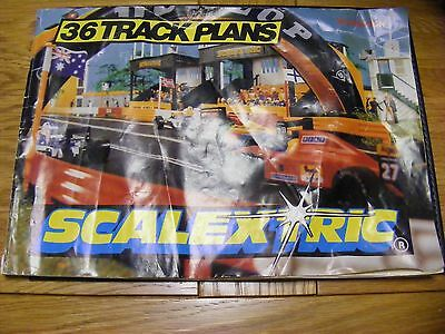 Scalextric 36 Track Plans 3Rd Edition Catalogue