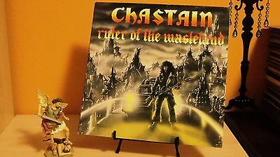 LP Chastain -Ruler Of The Wasteland- 1986- MADE IN HOLLAND-Perfect condition.