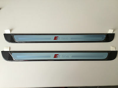Audi A3 S3 RS3 8V protective sill trim strip on the doorstep S-line 8V4853491