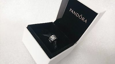 Pandora Genuine Authentic Silver Daisy Flower Clip Charm #790533 with gift box