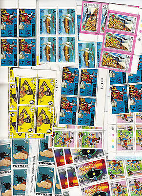 200 Each Grenada Mint Stamps; Mnh; Lot #9514