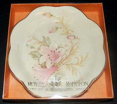 Royal Winton Grimwades Tudor Rose Dish Boxed Harvest Lily (*2)