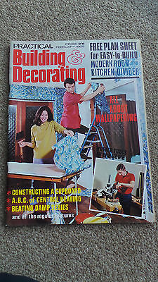 February 1969 Practical Decorating & Building Magazine