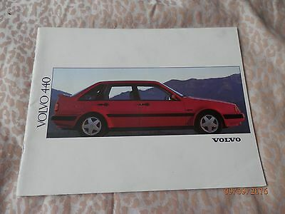 Original And Rare Volvo 440  + Turbo Sales Brochure -  41 Pages !