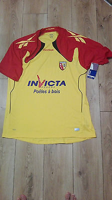 Racing Club de Lens RC Reebok home shirt 2010/2011Size XXL Adults New with tags