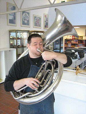 RARE HELICON (PRE-SOUSAPHONE) by KEEFER made in Williamsport, PA, c.1922