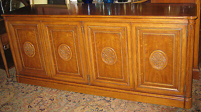 Henredon Server Buffet Sideboard Credenza Vintage Custom Folio One Style